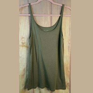 Eileen Fisher Organic cotton Taupe Brown Tank Cami